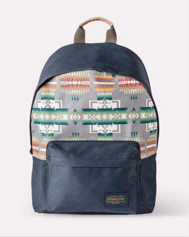 CHIEF JOSEPH CANOPY CANVAS BACKPACK, GREY, large