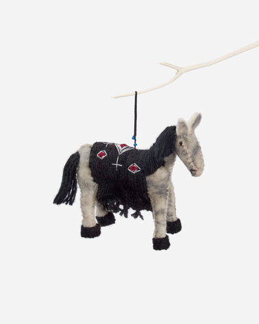 FOREST FRIENDS FELT ORNAMENTS, LOS OJOS PONY, large