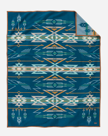 STAR WATCHERS BLANKET, BLUE, large