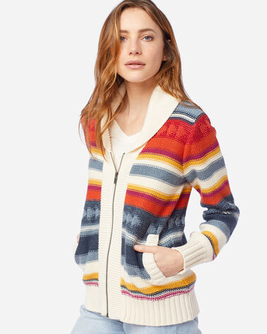 WOMEN'S CAMPFIRE ZIP CARDIGAN