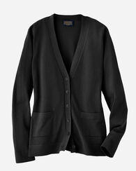 CLARICE CARDIGAN, BLACK, large