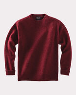 MEN'S SHETLAND WASHABLE WOOL CREWNECK
