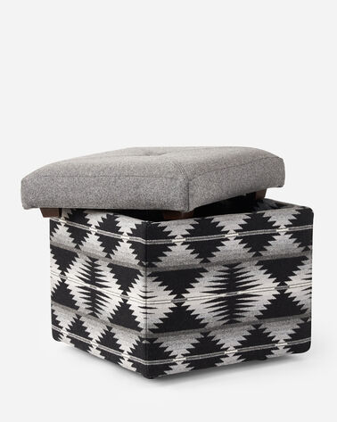 ADDITIONAL VIEW OF FANNIE KAY STORAGE OTTOMAN IN FALCON COVE/GREY