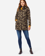 WOMEN'S WOOL PARKA IN CAMO