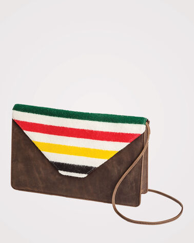 GLACIER PARK ENVELOPE CLUTCH, PARK STRIPE, large
