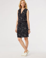 DAY AND NIGHT DRESS, BLACK PRINT, large