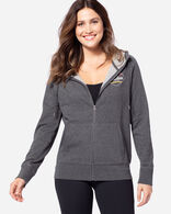 WOMEN'S PENDLETON LOGO HOODIE IN CHARCOAL HEATHER