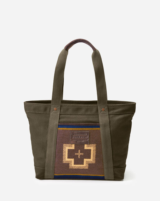SHELTER BAY TOTE IN BROWN