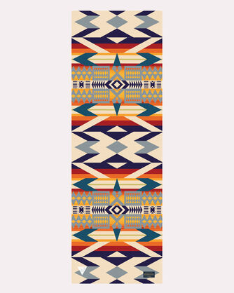 ADDITIONAL VIEW OF PENDLETON X YETI YOGA FIRE LEGEND MAT IN RED