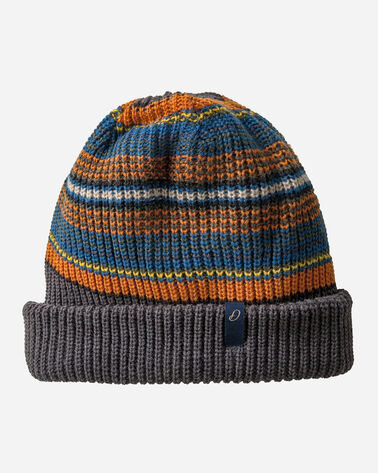 REVERSIBLE NATIONAL PARK STRIPE BEANIE, OLYMPIC STRIPE, large