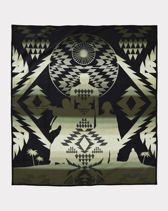 ADDITIONAL VIEW OF STAR WARS: ROGUE ONE BLANKET IN BLACK/IVORY