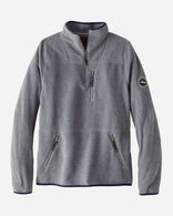 MEN'S FLEECE HALF-ZIP IN GREY HEATHER