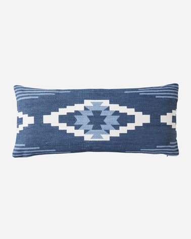 CREEKSIDE PRINTED KILIM HUG PILLOW IN INDIGO