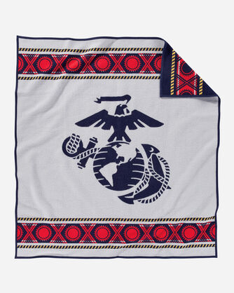 ADDITIONAL VIEW OF THE FEW. THE PROUD. THE MARINES. BLANKET IN NAVY