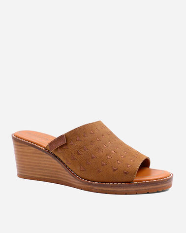 ALTERNATE VIEW OF WOMEN'S PECONIC WEDGES IN CARAMEL CAFE