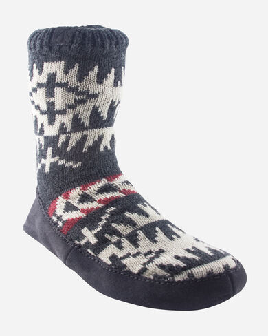 SPIDER ROCK HOMESTEAD SLIPPERS IN CHARCOAL