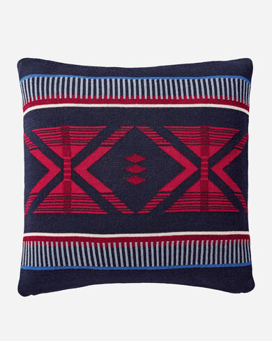 BIGHORN KNIT PILLOW IN IVORY MULTI