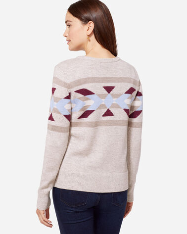 HERITAGE MERINO PULLOVER, NATURAL, large