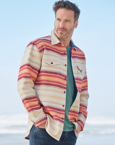 MEN'S SERAPE BEACH SHIRT