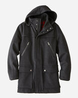 MEN'S BAINBRIDGE METRO COAT IN CHARCOAL