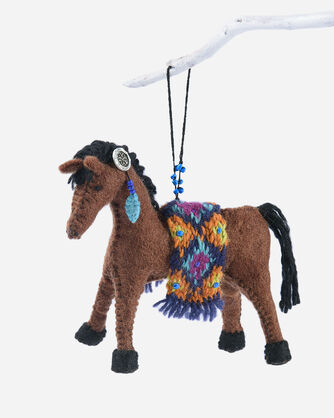 FOREST FRIENDS FELT ORNAMENTS IN HORSE