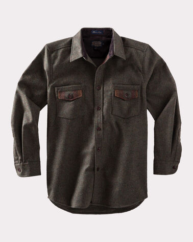 CONTRAST SHIRT, PEAT MOSS MIX, large