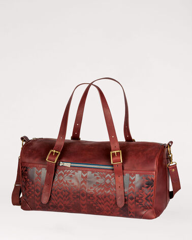 TOLOVANA DEBOSSED VOYAGER BAG