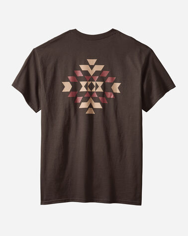 ADDITIONAL VIEW OF MEN'S BASKET MAKER GRAPHIC TEE IN CHOCOLATE