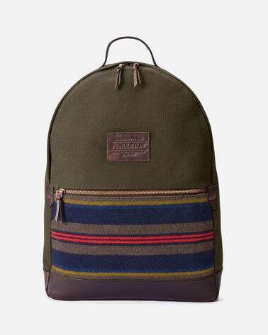 SHELTER BAY BACKPACK IN BROWN