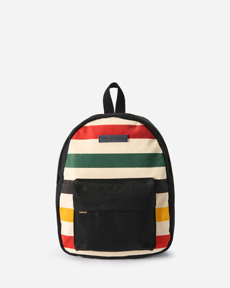 GLACIER CANOPY CANVAS MINI BACKPACK IN IVORY