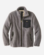 MEN'S RIVER ROCK FULL-ZIP FLEECE JACKET IN GREY