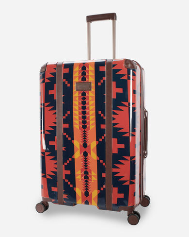 """SPIDER ROCK 28"""" SPINNER LUGGAGE IN RUST/NAVY"""