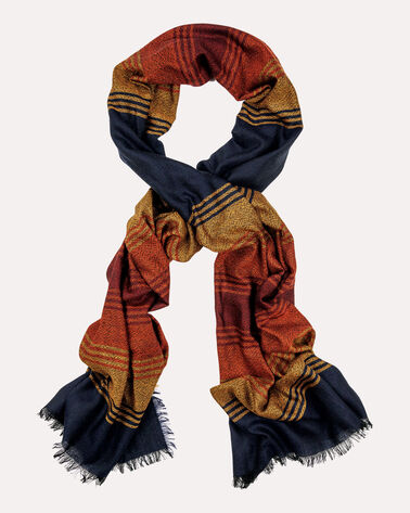 GRAND CANYON STRIPE WOOL SCARF, GRAND CANYON STRIPE, large