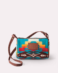 TUCSON TRAVEL KIT WITH STRAP, TURQUOISE, large