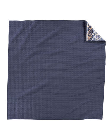 ALTERNATE VIEW OF JOURNEY WEST COVERLET SET IN VINTAGE INDIGO