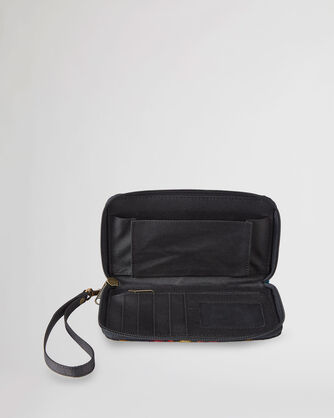 ALTERNATE VIEW OF SMARTPHONE WALLET IN BLACK ECHO CANYON