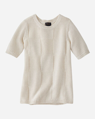WOMEN'S TONAL CHECK SWEATER