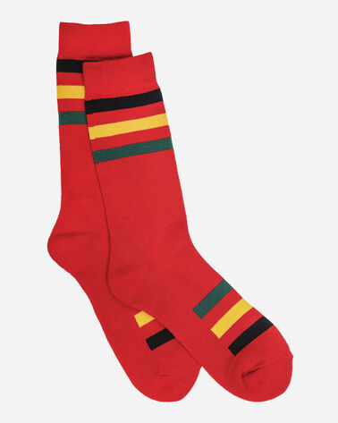 NATIONAL PARK STRIPE CREW SOCKS, RAINIER, large