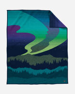 NORTHERN LIGHTS BLANKET IN NAVY