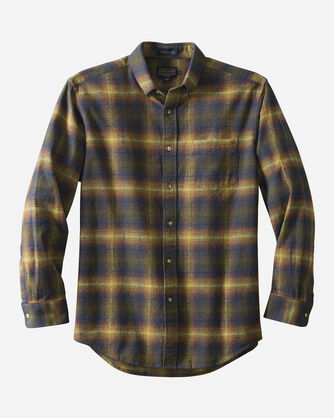 FITTED LISTER FLANNEL SHIRT, , large