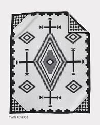 LOS OJOS BLANKET, BLACK/ WHITE, large
