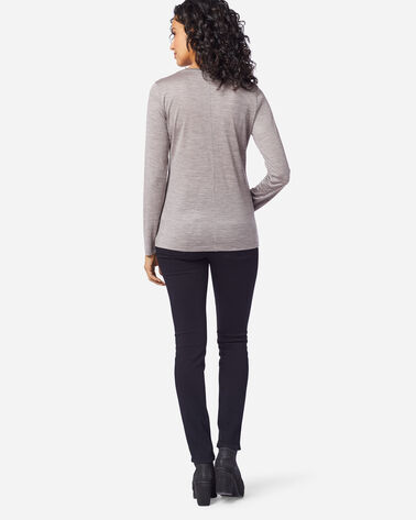 MACHINE WASHABLE LONG SLEEVE MERINO TEE