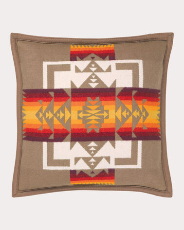 CHIEF JOSEPH PILLOW, TAN, large
