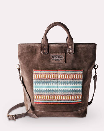 ADDITIONAL VIEW OF AMERICAN WEST LONG TOTE IN AMERICAN WEST