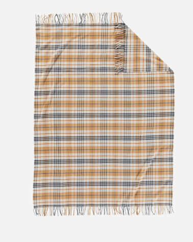 ADDITIONAL VIEW OF PLAID 5TH AVENUE MERINO THROW IN GOLDENDALE PLAID