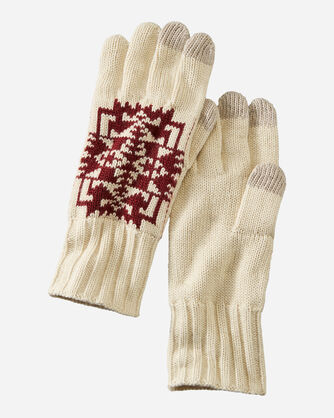 KNIT GLOVES IN CHIEF JOSEPH IVORY