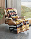 SADDLE MOUNTAIN BLANKET IN GOLD