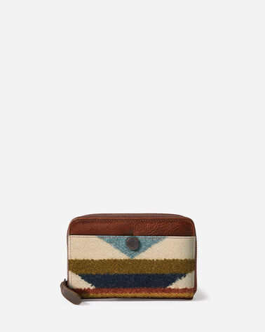 WYETH TRAIL ZIP WALLET, IVORY, large