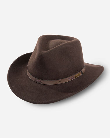 INDY HAT IN BEAVER BROWN