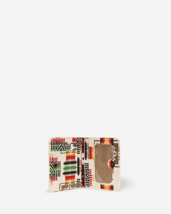 CHIEF JOSEPH CANOPY CANVAS SNAP WALLET